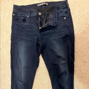 Express Jeans Mid Rise